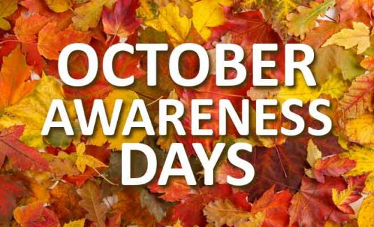 October awareness days